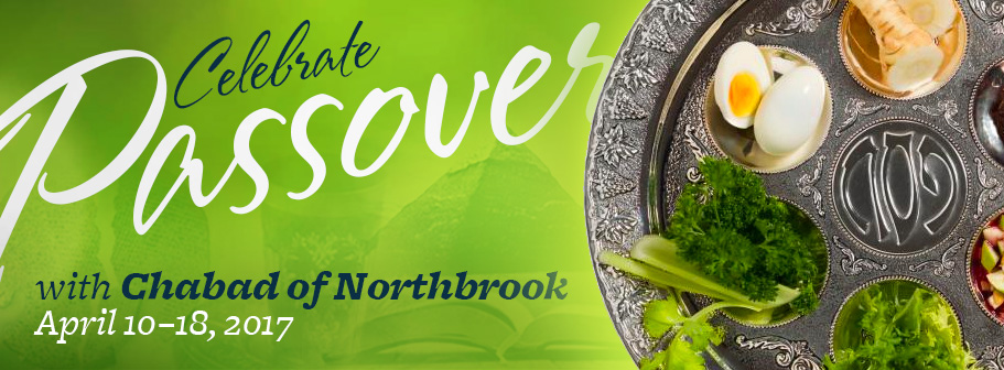 Celebrate Passover with Chabad of Northbrook